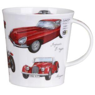 Great Classic Cars Red Cairngorm Shape Mug