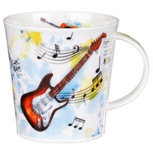 Making Music Guitar Cairngorm Shape Mug