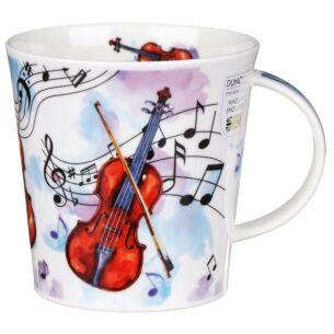 Making Music Violin Cairngorm Shape Mug