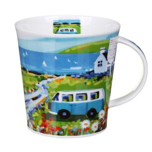 Baywatch Blue Cairngorm Shape Mug