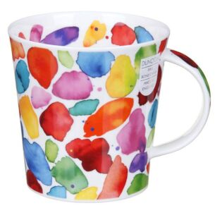 Blobs! Red Cairngorm Shape Mug