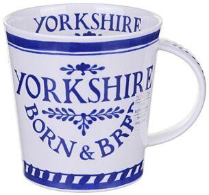 Born & Bred Yorkshire Cairngorm Shape Mug