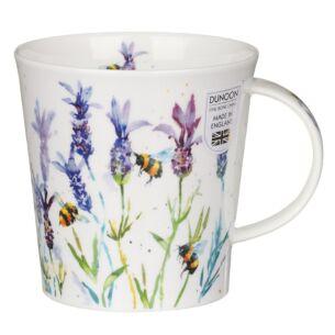Busy Bees Lavender Cairngorm Shape Mug
