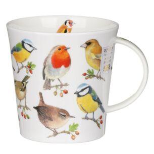 Song Bird Berries Cairngorm Shape Mug