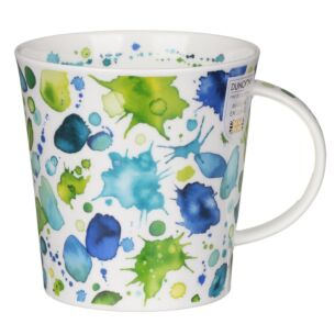 Whoops! Green Cairngorm Shape Mug