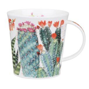Multi Cactus Cairngorm Shape Mug