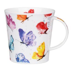 Flight of Fancy Butterfly Cairngorm Shape Mug