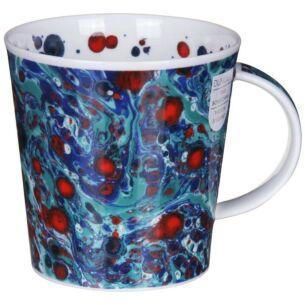Dunoon Magma Blue Cairngorm Shape Mug