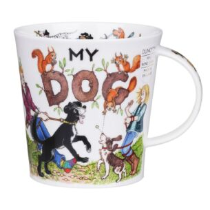 My Dog Cairngorm Shape Mug
