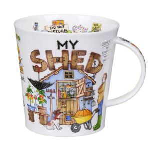 My Shed Cairngorm Shape Mug