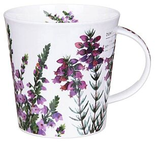 Scottish Heathers Cairngorm Shape Mug