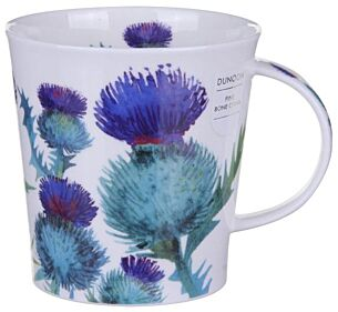 Scottish Thistle Cairngorm shape Mug
