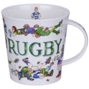 Sporting Antics Rugby Cairngorm Shape Mug