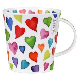 Warm Hearts Cairngorm shape Mug