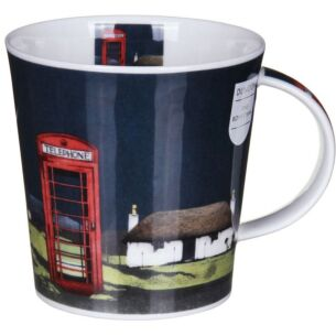 Highland Retreat Phonebox Cairngorm Shape Mug