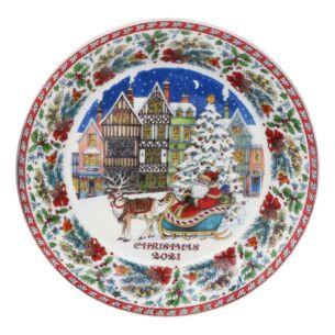 Christmas Plate 2021