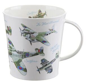 Dunoon Classic Collection Planes Cairngorm shape Mug