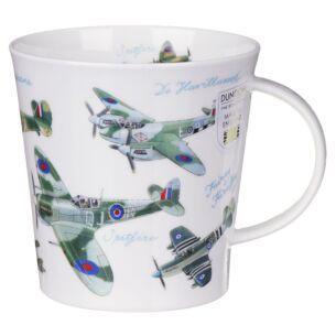 Classic Collection Planes Cairngorm shape Mug