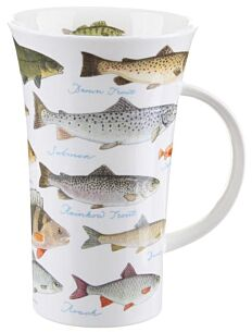 Fresh Water Fish Glencoe shape Mug