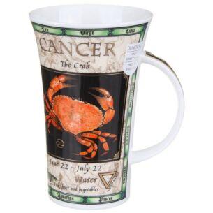 Zodiac Cancer Glencoe shape Mug