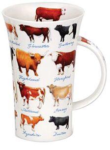 Cows Glencoe shape Mug