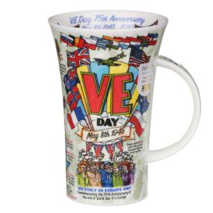 VE Day Anniversary Glencoe Shape Mug