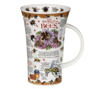 The World of Bees Glencoe Shape Mug