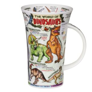 World of Dinosaurs Glencoe Shape Mug