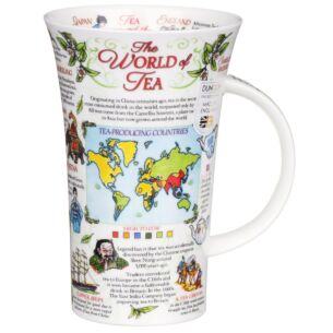 The World of Tea Glencoe Shape Mug