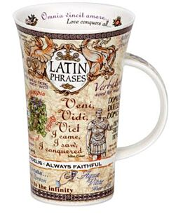 Latin Phrases Glencoe shape Mug