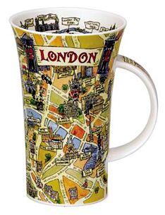 Tour Of London Glencoe shape Mug