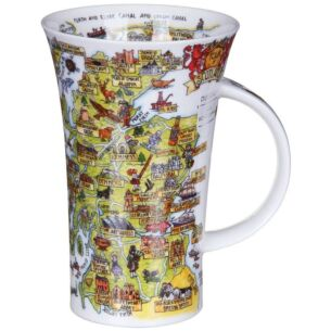 Tour of Scotland Glencoe Shape Mug