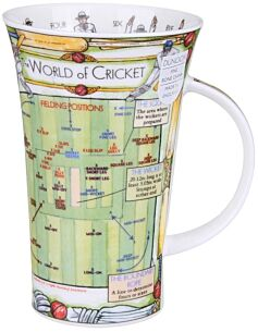 World of Cricket Glencoe shape Mug
