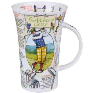 The World of Golf Glencoe shape Mug