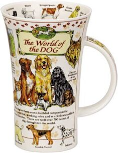 The World Of The Dog Glencoe shape Mug