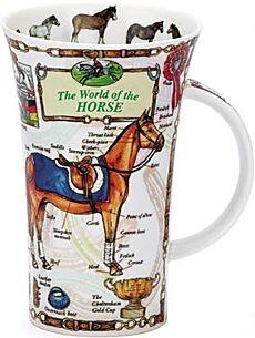 The World Of The Horse Glencoe shape Mug