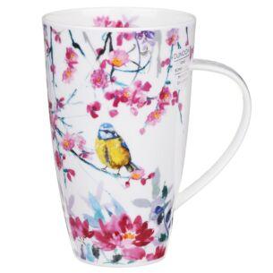 Dunoon Birdsong Yellow Henley Shape Mug