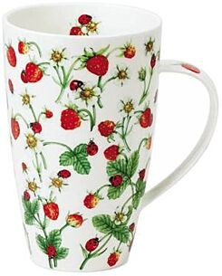 Dovedale Strawberry Henley shape Mug