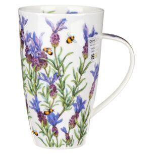 Lavender Henley Shape Mug