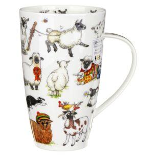 Woolly Jumpers Henley Shape Mug