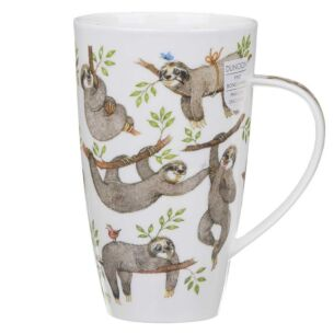 Dunoon It's a Sloths Life Henley Shape Mug