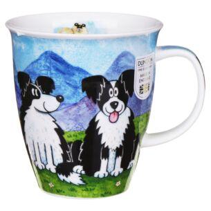 Highland Animals Sheep Dog Nevis shape Mug