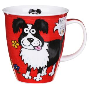 Highland Gang Collie Nevis Shape Mug