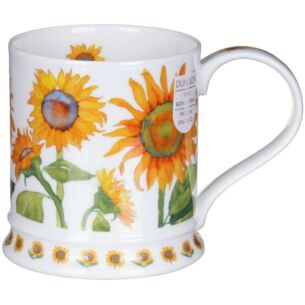 Dunoon Garden Flowers Sunflowers Iona Shape Mug