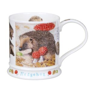 Wildlife Hedgehog Iona Shape Mug