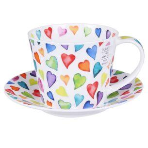 Warm Hearts Islay Cup & Saucer