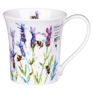Busy Bees Lavender Jura Shape Mug