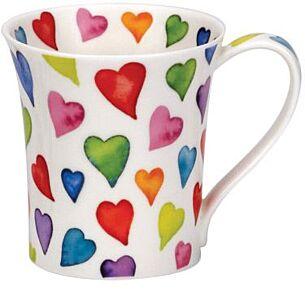 Dunoon Warm Hearts Jura shape Mug
