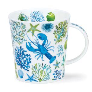 Under The Sea Blue Lomond Shape Mug