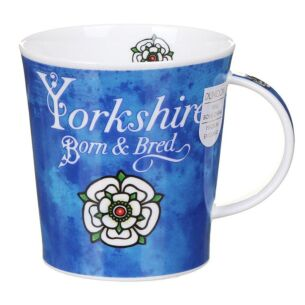 Born And Bred Yorkshire Lomond Shape Mug